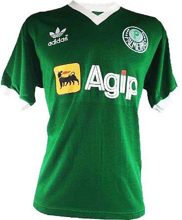 Camisa Retrô Palmeiras Agip Verde 1987