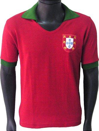 Camisa Retrô Seleção Portuguesa Portugal 1972