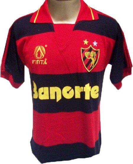 Camisa Retrô Sport Recife Banorte 1991