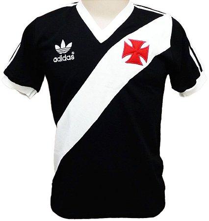 Camisa Retrô Vasco Preta 1984