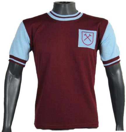 Camisa Retrô West Ham 1958