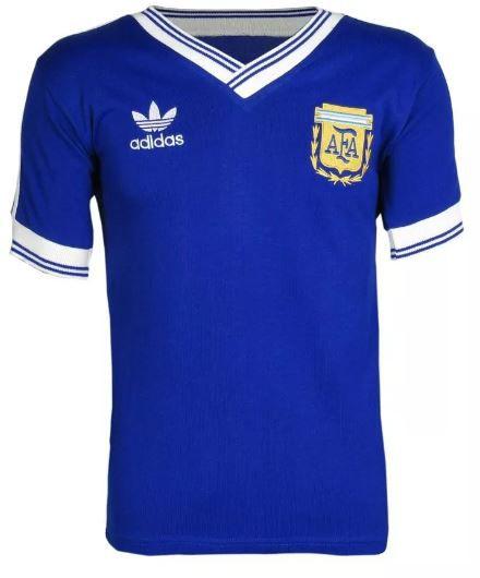 Camisa Retrô Seleção Argentina 1980