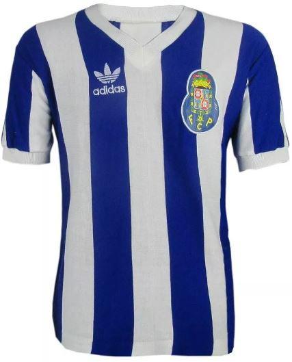 Camisa Retrô Porto Portugal Temporada 1988 - 1989