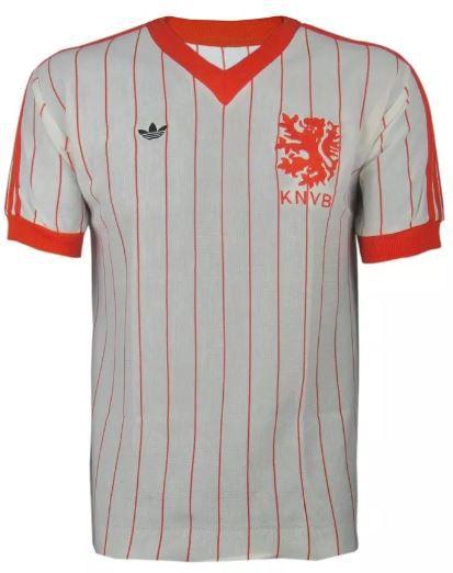 Camisa Retrô Seleção Holandesa Holanda Reserva 1982