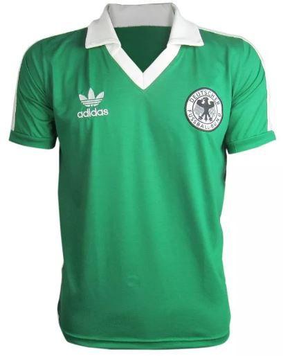 Camisa Retrô Seleção Alemã Alemanha 1982
