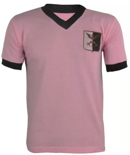 Camisa Retrô Palermo da Itália anos 70