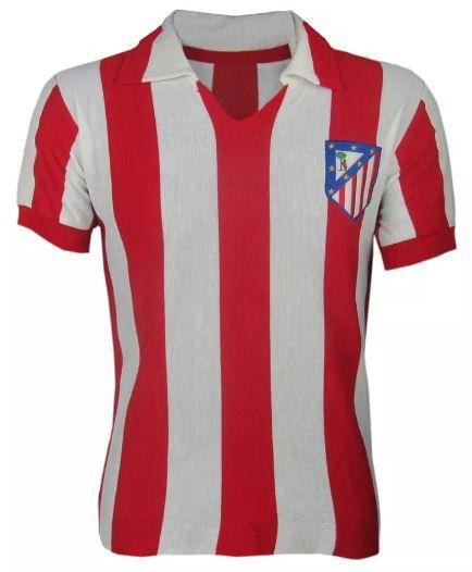Camisa Retrô Atlético de Madri Gola Polo