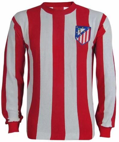 Camisa Retrô Atlético de Madri anos 70