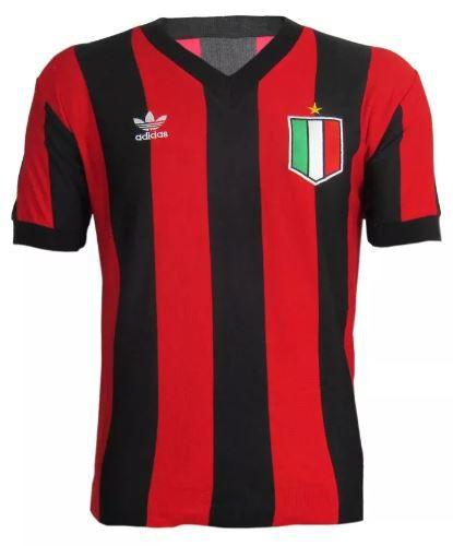 Camisa Retrô Milan 1980