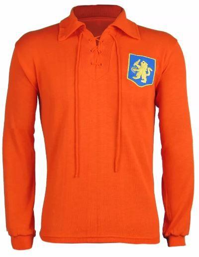 Camisa Retrô Seleção Holandesa Holanda 1950