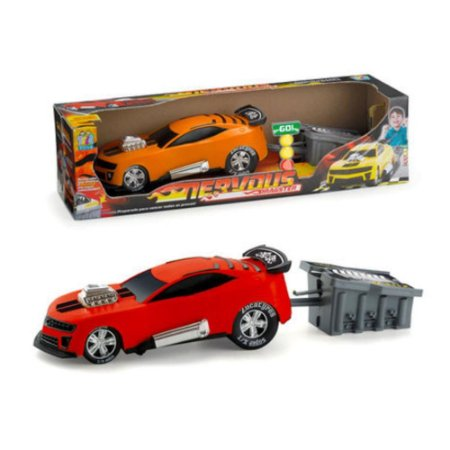 Carro Nervous Dragster Collection Super Arrancada - Zucatoys