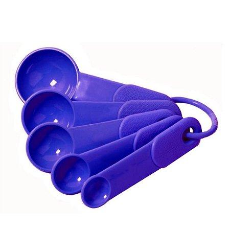 Jogo 4 Colheres Medidoras Kit