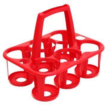 Porta Garrafas Plastica Para 6 Garrafas Plasnew