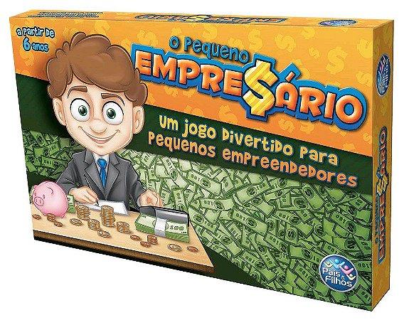 Jogo Tabuleiro O Pequeno Empresário Pais & Filhos