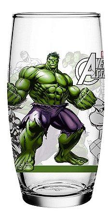 Copo Hulk Avengers Long Drink 430 ml Licenciado - 117011