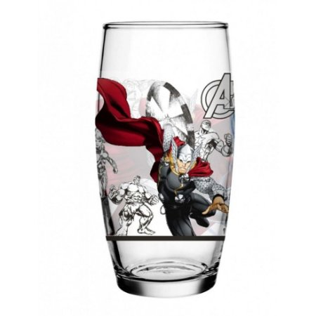 Copo Thor Avengers Long Drink 430 ml Licenciado - 117010