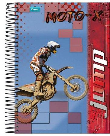 Caderno Universitário Jump 3 96 Fls. 1x1 New