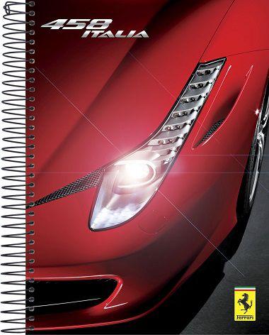 Caderno Universitário Ferrari 458 Italia mod. 2 New