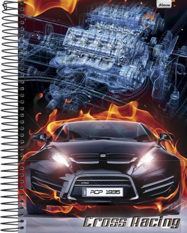 Caderno Universitário Cross Racing 2 New