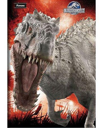 Kit 5 Cadernos  Brochurão Jurassic Park 96 fls.  New