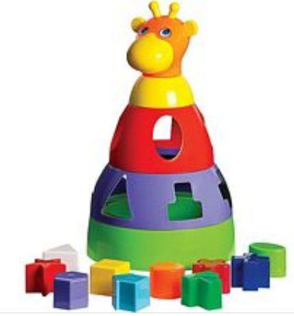 Girafa Baby Brinquedo Infantil de Montar Educacional - 35913