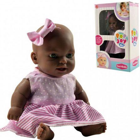 Boneca Mini Pop Joy Negra Com Cheirinho New