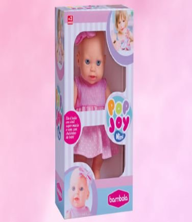 Boneca Mini Pop Joy New