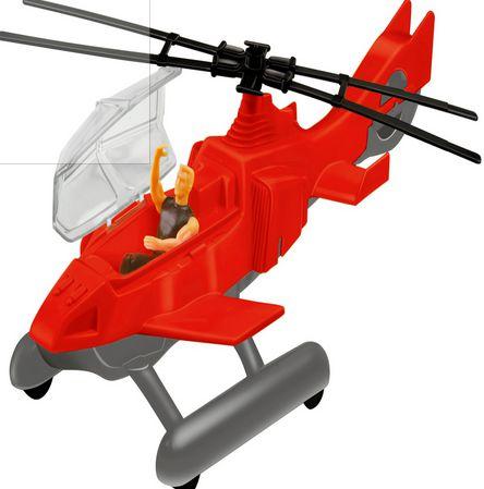 Brinquedo Helicóptero Lider com Boneco New