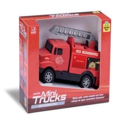 Brinquedo Caminhão Mini Truck Bombeiro Carrinho New