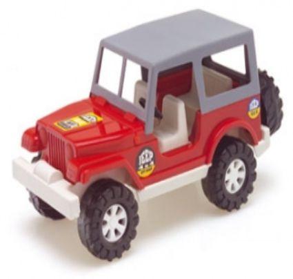 Brinquedo Carro Jeep C/ Capota Color Carrinho New
