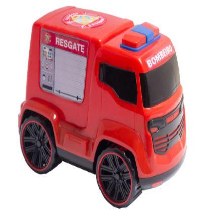 Brinquedo Carro Truck Bombeiro Resgate Carrinho New