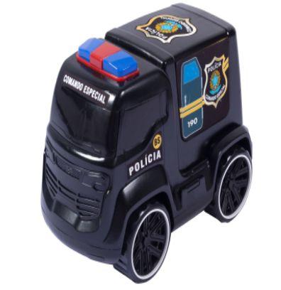 Brinquedo Carro Truck Policia 25cm Carrinho New
