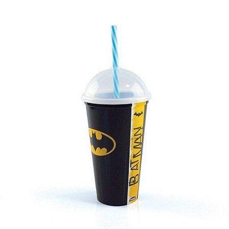 Copo Shake C/Canudo Batman New