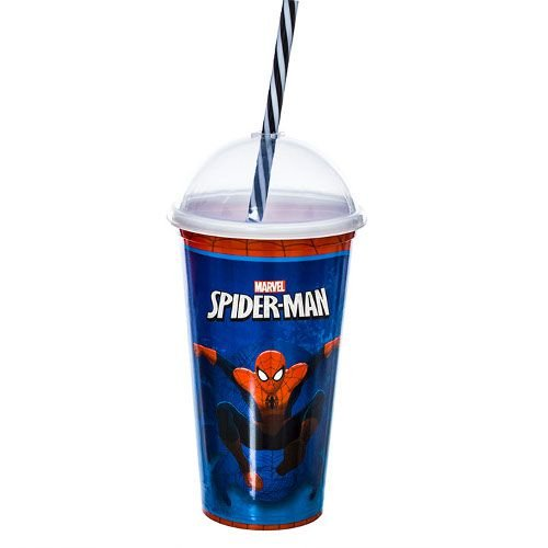 Copo Ultimate Spider Man Milk Shake 500 Ml - 127377