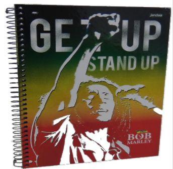 Caderno Universitário Bob Marley 96 fls.  New