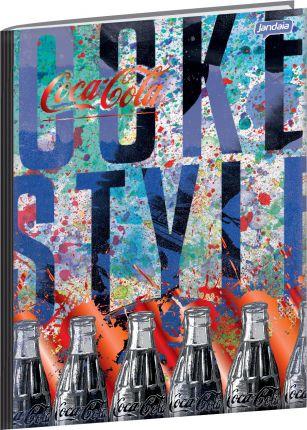 Caderno Universitário Coca Cola 1 - 96 fls.  New