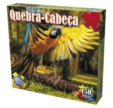 Quebra Cabeça Arara 150pçs New