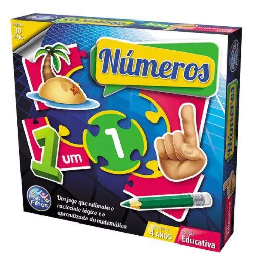 Jogo Brincar de Aprender Números New