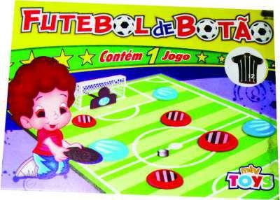 Jogo de Botão C/2 na caixa New