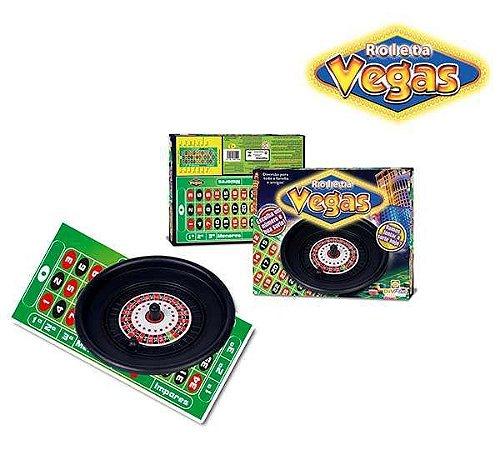 Jogo Roleta Vegas C/60 Fichas New