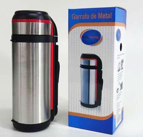 Garrafa Térmica Metal 1,6 litros Alça Removível - 124295