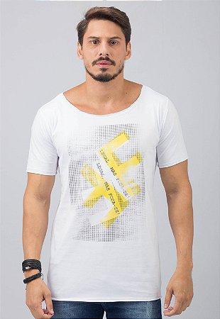Camiseta Gola Canoa Masculina Legal, Foda-se