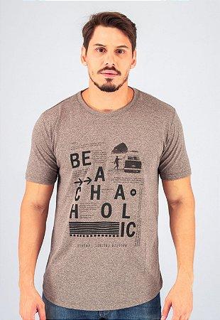 Camiseta Gola Tradicional Black Noise Beachaholic