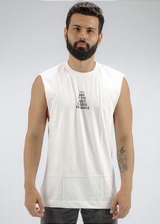 Camiseta Regata Machão Branca Eyes