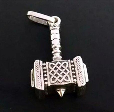 Pingente Martelo de Thor Mjölnir - PG17