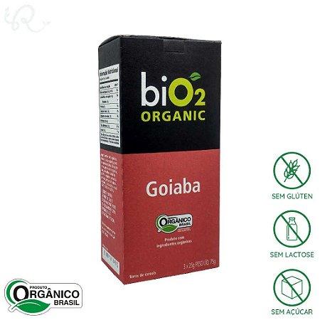 Barra de cereal biO2 Goiaba Orgânica Caixa com 3 x 25g - biO2 Organic