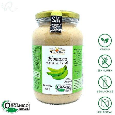 Biomassa de Banana Verde Orgânica 570g - Novo Citrus