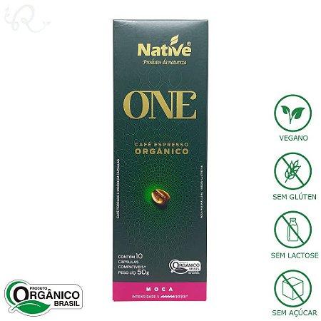 Café Orgânico em Cápsulas Nespresso® Moca - Native