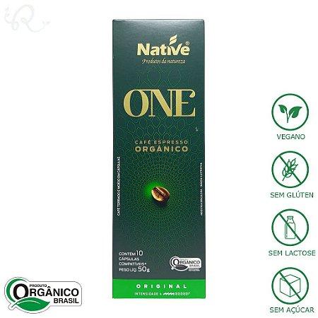 Café Orgânico em Cápsulas Nespresso® Original - Native