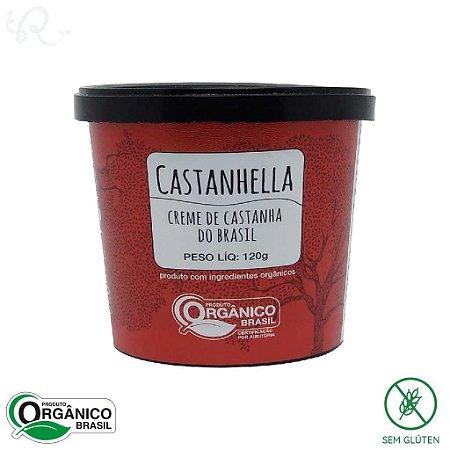 Castanhella Creme de Castanha Orgânico 120g - Chokolah